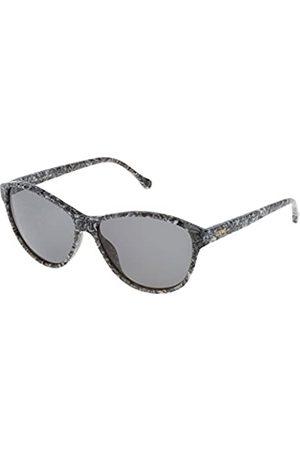 Loewe Women's SLW931M5709AY Sunglasses, ( Stone Effect)