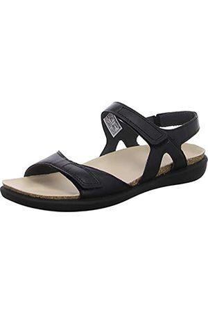 Legero Women's Float Ankle Strap Sandals, (Schwarz) 01