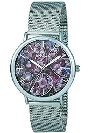 Snooz Men's Analogue Quartz Watch with Stainless Steel Strap Saa1042-78