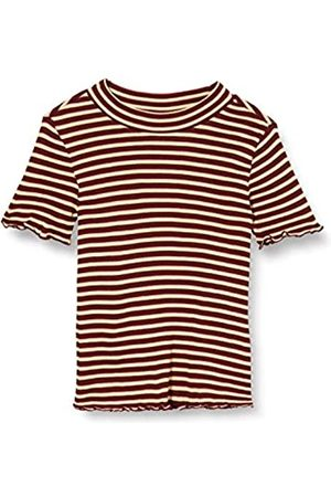 Scotch&Soda Girl's Fitted Short Sleeve Tee with High Neck T-Shirt