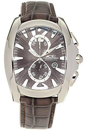 ChronoTech Mens Chronograph Quartz Watch with Leather Strap CT7024M-62