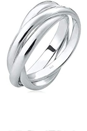 Elli Women's 925 Sterling Trio Basic Blogger Wrap Ring