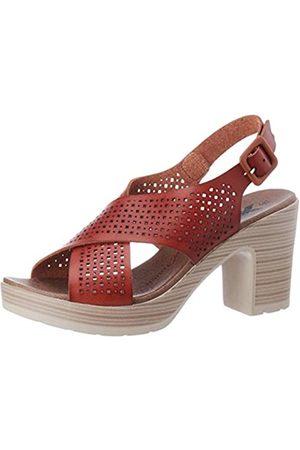 Leatherman Women's 49860 Platform Sandals, (Camel Camel)