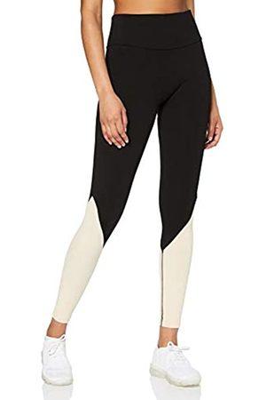 New Look Women's Ac Sf Rib Leggings Skinny Sports Tights