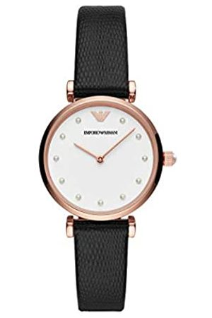 Emporio Armani Quartz Watch with Leather Strap AR11270