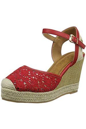 Refresh Women's 69568 Platform Sandals, (Rojo Rojo)