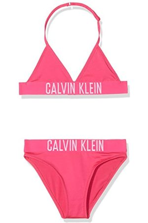 Calvin Klein Girl's Triangle Bikini Set Swimwear