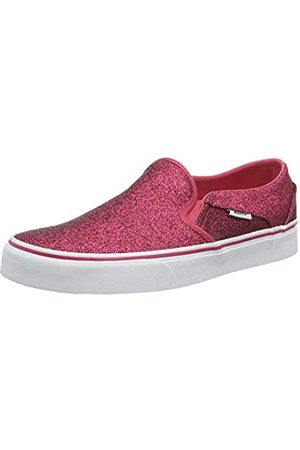 Vans Women's Asher Slip On Trainers, ((Glitter Rainbow) Xwp)