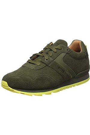 HUGO BOSS Men's Parkour_Runn_sdpf Low-Top Sneakers, (Dark 307)