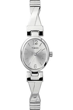 Timex Women Watches - Women's Fashion Stretch Bangle 21 mm Expansion Band Watch TW2U12200