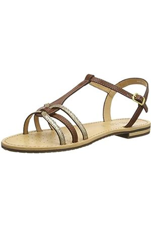 Geox Women's D Sozy G Open Toe Sandals, ( /Lt Bronze C6fb6)