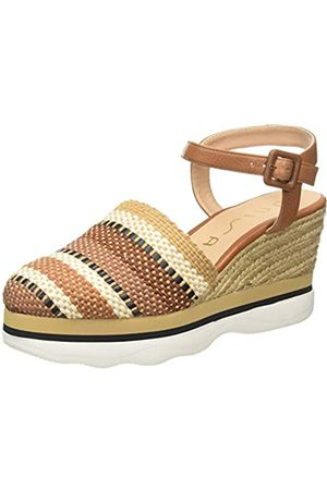unisa Women's Leida_can Espadrilles, (Saddle Saddle)