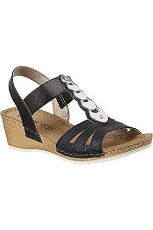 Lotus Women's Padova Open Toe Sandals, ( BBK)