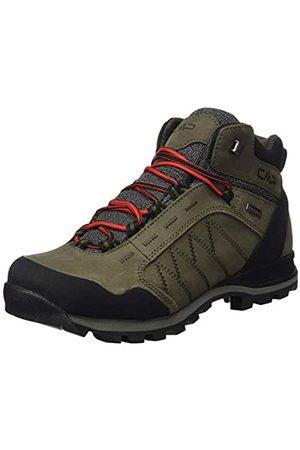 CMP - F.lli Campagnolo Men's Thiamat Mid Trekking Shoe Wp High Rise Hiking Boots, (Wood P961)