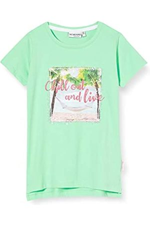 Salt & Pepper Salt and Pepper Girls' Fotoprint Strand mit Pailletten und Glitzerdruck T-Shirt