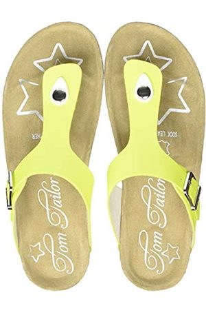 Tom Tailor Girls' 8072217 Flip Flops, (neon 02474)