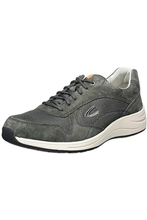 camel active Men's Fusion Low-Top Sneakers, (Anthracite 05)