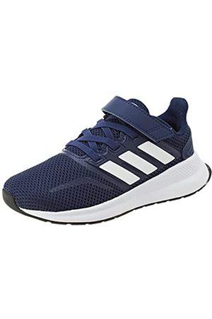 adidas Unisex Kids' Runfalcon C Running Shoe, Dark /FTWR /Core