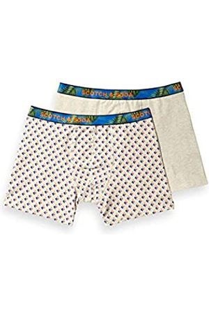 Scotch&Soda Men's Summer Boxer Short with Printed Waistband