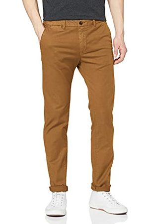Scotch & Soda Men's Mott- Classic Garment-Dyed Chino Trouser