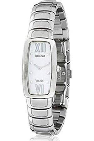Seiko Womens Quartz Watch Analogue Display and Stainless Steel Strap SUJ783P1
