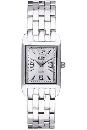 Clips Women's Quartz Watch with Dial Analogue Display and Metal Strap 553-2001-88