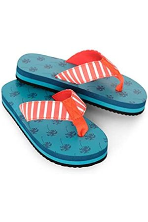 Hatley Boys Flip Flops, (Tropical Palms 300)
