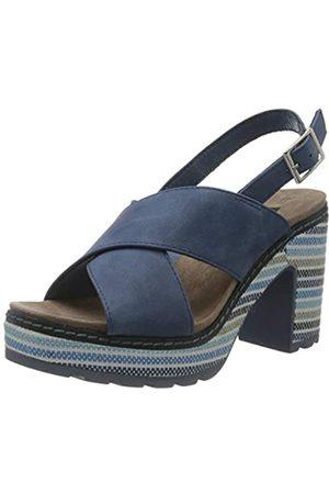 Refresh Women's 72213 Platform Sandals, (Jeans Jeans)