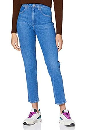 Wrangler Women's Mom Straight Jeans