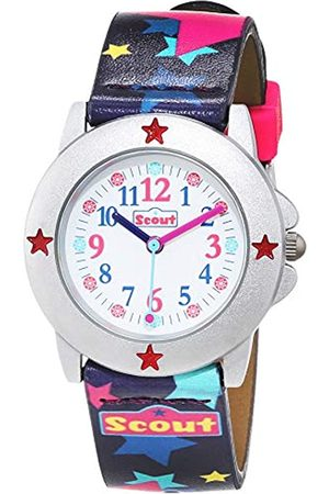 Scout Girl's Analogue Quartz Watch with Plastic Band Strap 1