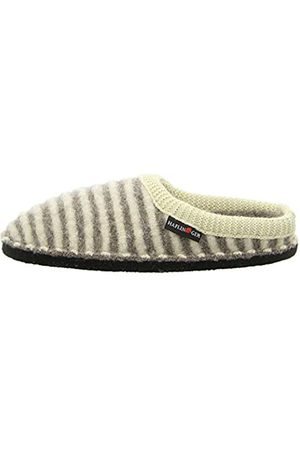 Haflinger Unisex Adults' Flair Cathy Open Back Slippers, (Beigemeliert 46)