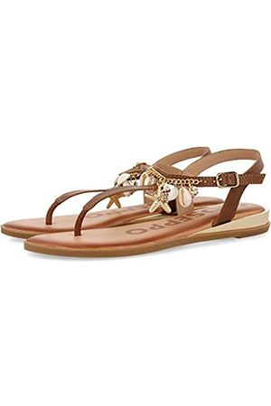 Gioseppo Women's Minden Open Toe Sandals, ( Cuero)
