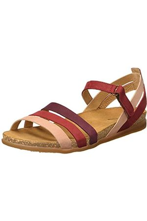 El Naturalista Women's N5244 Multi Leather Zumaia Open Toe Sandals, (Tibet Mixed Tibet Mixed)