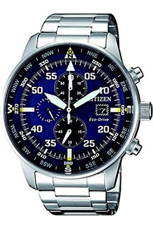 Citizen Mens Chronograph Quartz Watch with Stainless Steel Strap CA0690-88L