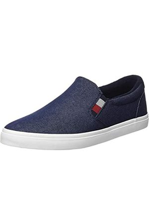 Tommy Hilfiger Men's Essential Slip On Sneaker Low-Top, (Desert Sky Dw5)