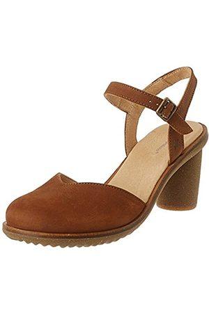 El Naturalista Women's N5164 Pleasant Trivia Closed Toe Heels, (Wood Wood)