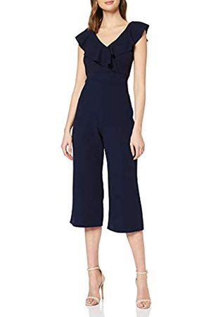 Mela Women's Ruffle Top Jumpsuit