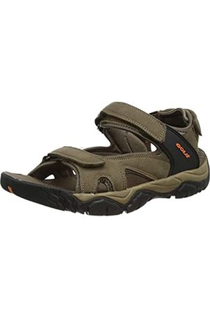 Gola Men's Dakota Hiking Sandals, (Taupe/ /Burnt Fix)