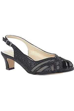 Lotus Women's Glinda Open Toe Heels, ( Bj)