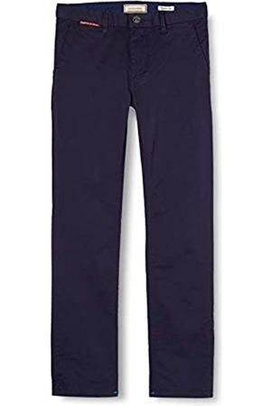 Scotch & Soda Boy's Slim Fit- Chino in Pima Cotton Quality with Stretch Trouser