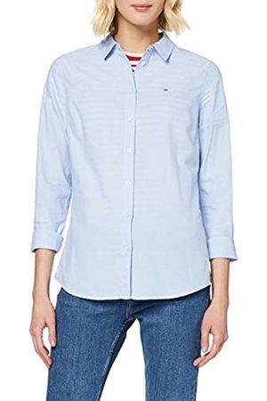 Tommy Jeans Women's Tjw Slim Fit Oxford Shirt Sports