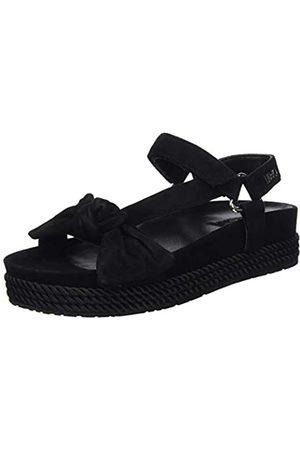 Liu Jo Shoes Women's Patty 05-Sandal Kid Suede Open Toe, ( 22222)