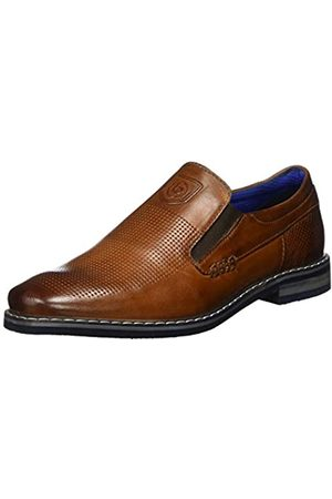 Bugatti Men's 311896603500 Loafers, (Cognac 6300)