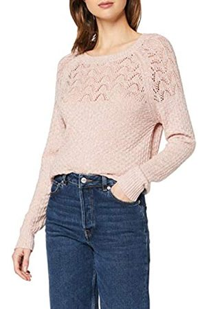 Dorothy Perkins Women's Textured Yoke Detail Jumper Pullover Sweater