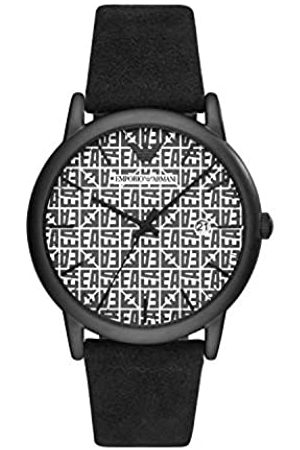 Emporio Armani Quartz Watch with Leather Strap AR11274