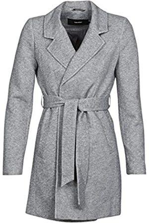 Vero Moda Women's Vmverodona Trenchcoat Col Wool Blend Coat