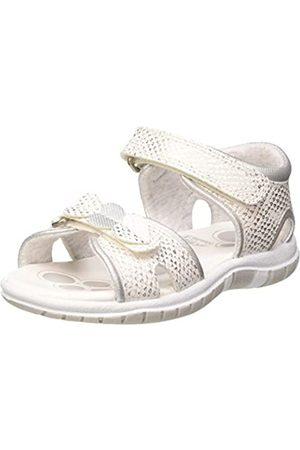 chicco Girls' Sandalo Fedra Open Toe Sandals, (Bianco 300)
