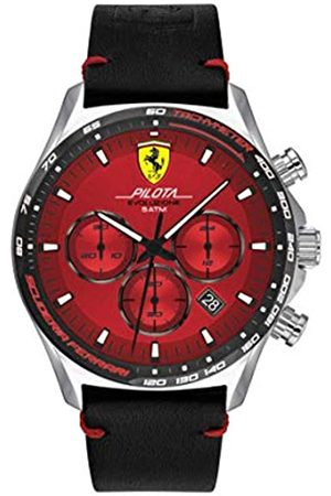Scuderia Ferrari Men's Analogue Quartz Watch with Leather Strap 0830713