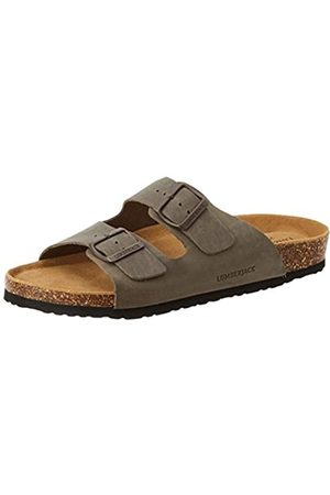 Lumberjack Men's Isla Open Toe Sandals, (Anthracite Cd001)