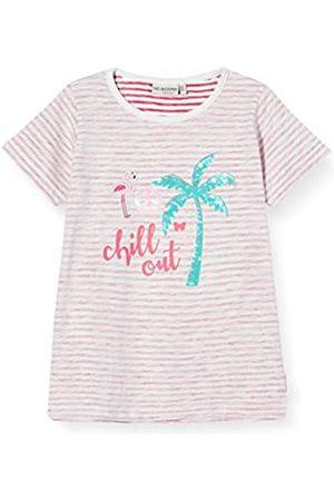 Salt & Pepper Salt and Pepper Girls' Palmen Druck mit Flamingo Applikation und Pailletten T-Shirt